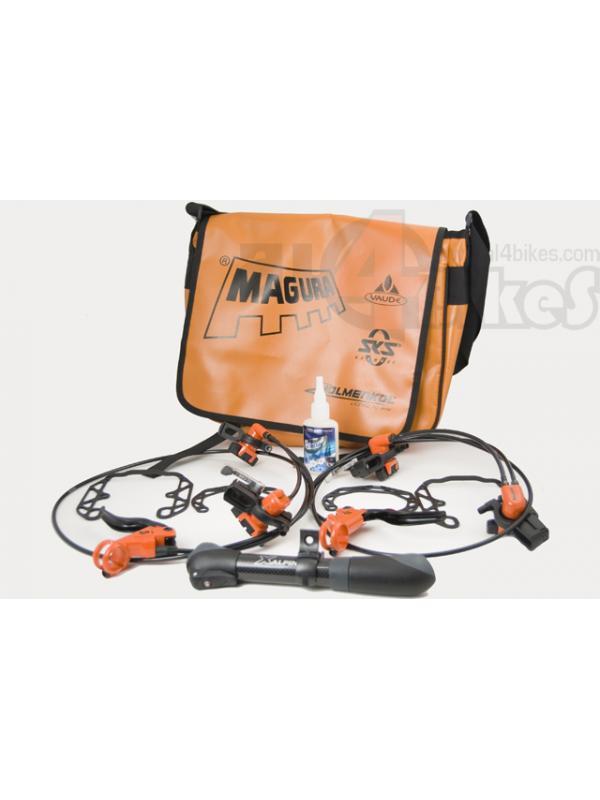KIT MAGURA EDICION LIMITADA NARANJAS - Frenos Hs33 Naranjas edición limitada