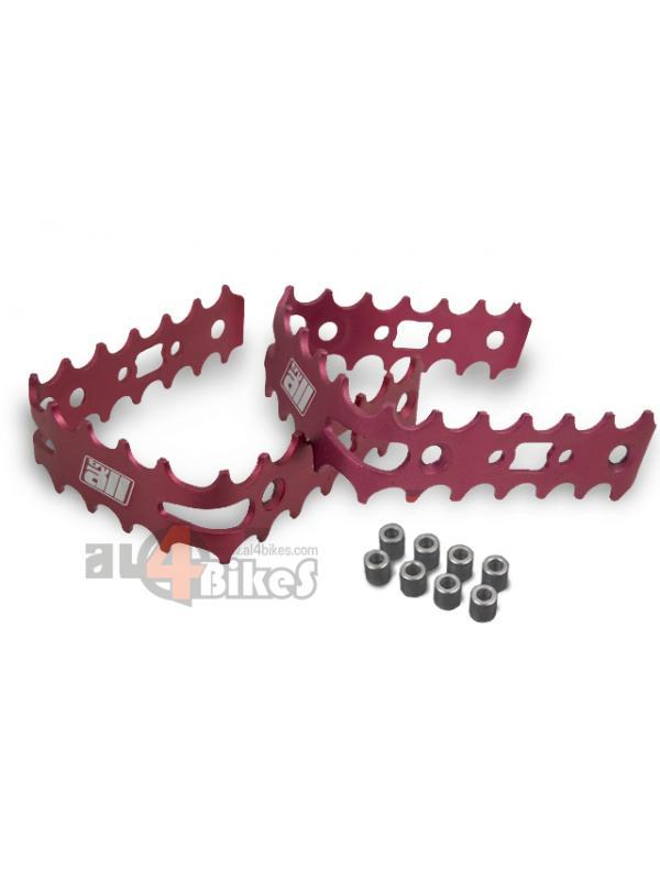 JAULAS PEDALES TRY ALL - Jaulas Try all de aluminio 6061