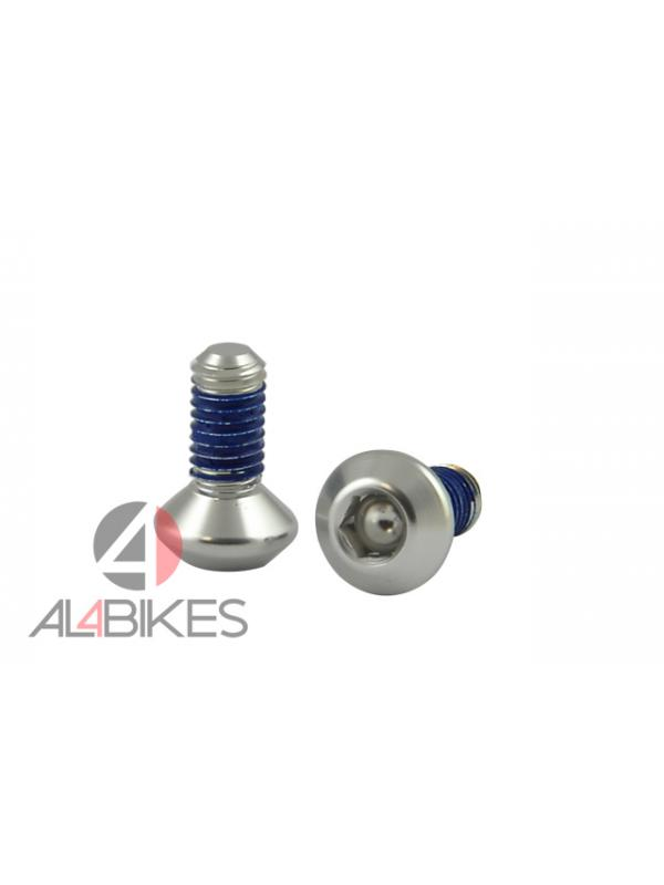 TORNILLOS PEDAL JAULA HASHTAGG - Tornillos de repuesto de aluminio para pedales