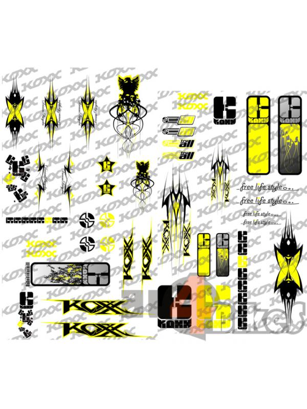 ADHESIVOS KOXX PEN YELLOW - Adhesivos Koxx Pen Yellow.
