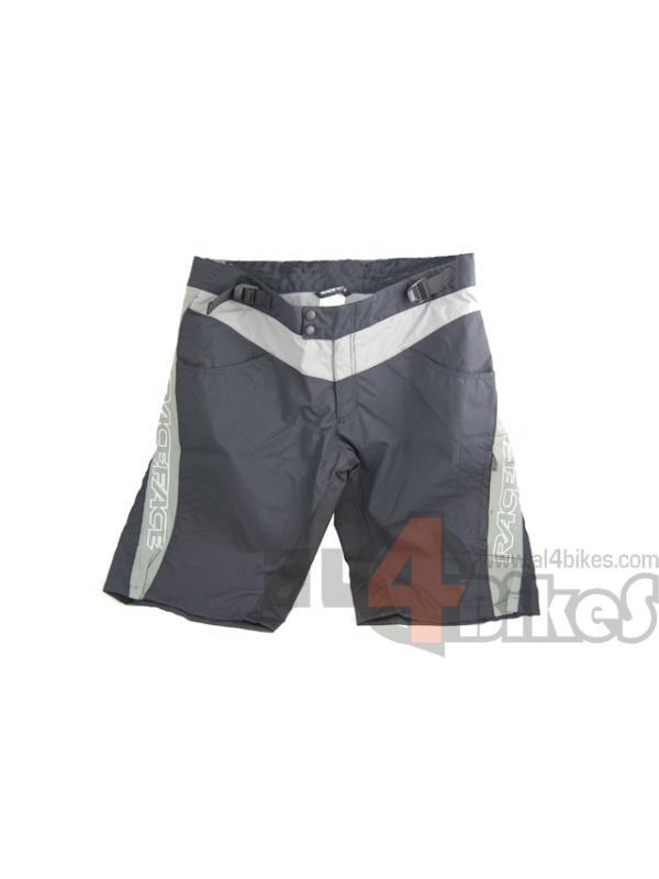 PANTALON RACEFACE COMPETICION NEGRO/GRIS L - Pantalón corto de competicion Raceface talla L Negro
