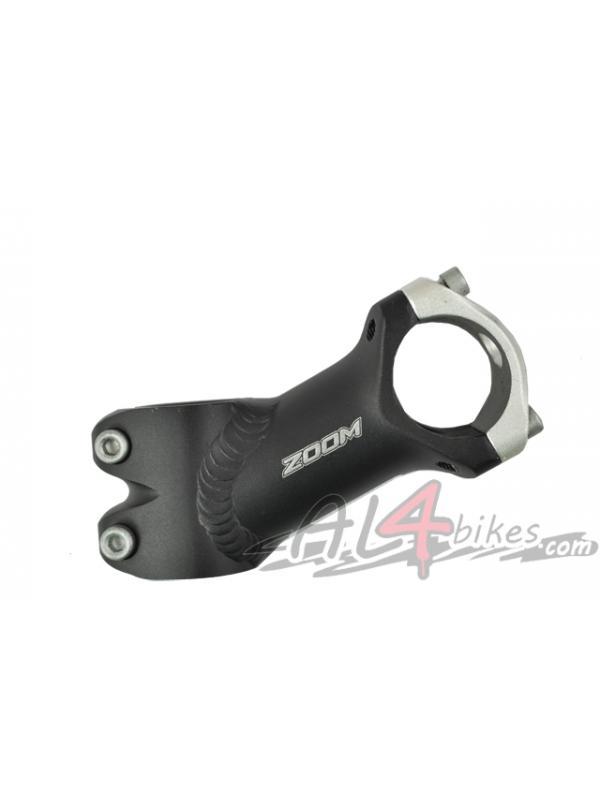 POTENCIA ZOOM 70MM 35º PARA MANILLAR DE 25.4 - Potencia Zoom 70mm 35º  para manillar 24.5