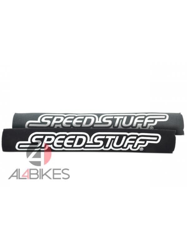 PROTECTOR VAINA SPEED STUFF NEGRO/GRIS - Protector de vaina Speed Stuff reversible, negro/gris