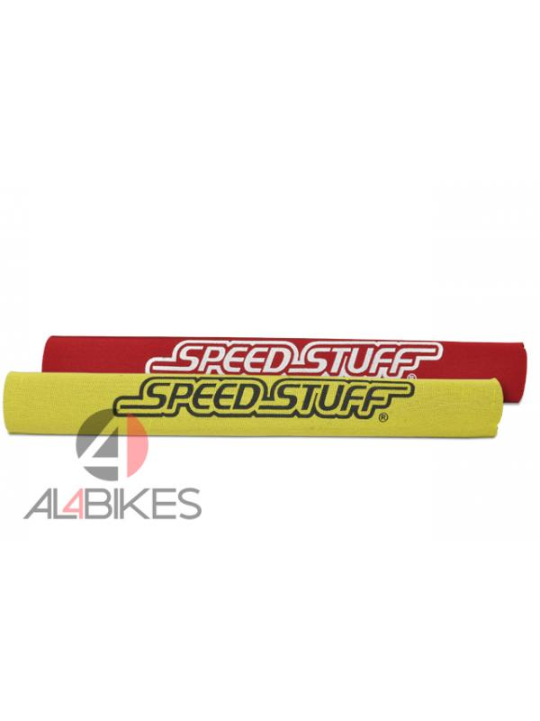 PROTECTOR VAINA SPEED STUFF ROJO/AMARILLO - Protector de vaina Speed Stuff reversible, rojo/amarillo