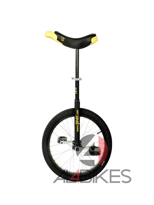 MONOCICLO QUAX LUXUS 20 NEGRO + REGALO PROTECCIONES - Monociclo Qu-ax Luxus Negro 20 pulgadas