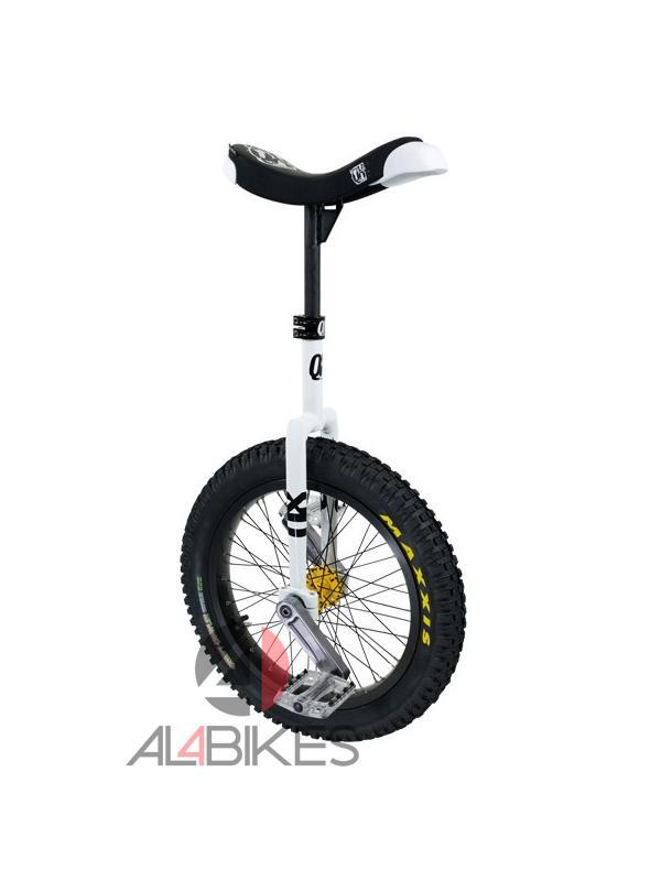 MONOCICLO QX MUNI 19 WHITE + REGALO PROTECCIONES  - Monociclo QX Muni 19