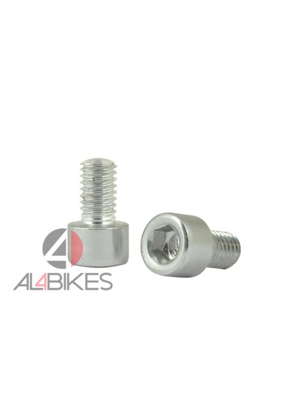 TORNILLO ALUMINIO M6X10 - Tornillo aluminio M6x10