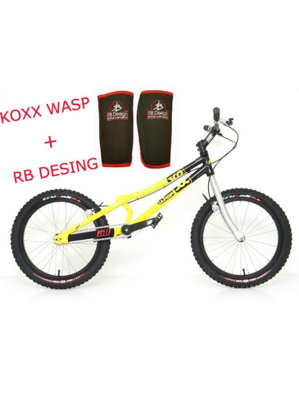 KOXX WASP + ESPINILLERAS RB DESING - Descatalogada