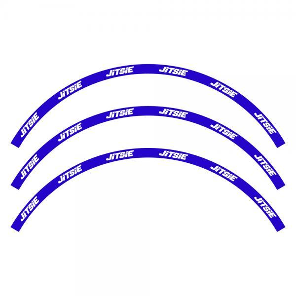 ADHESIVOS LLANTA JITSIE AZULES - Adhesivos Jitsie para llantas azules para rueda de 19/20/24/26 pulgadas