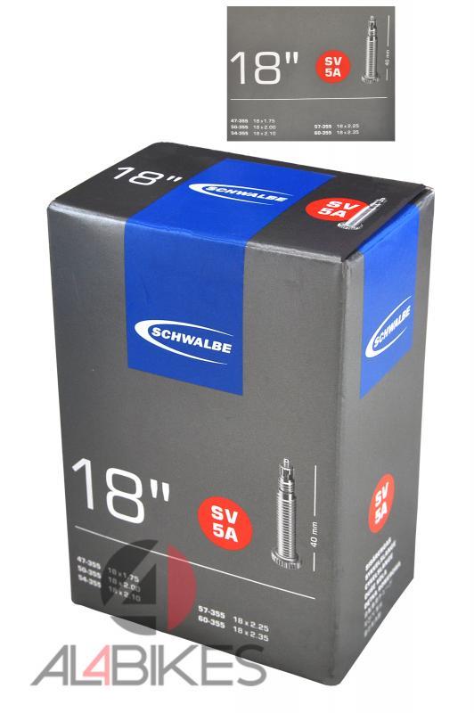 CAMARA SCHWALBE SV 40 18X1.75 / 2.35