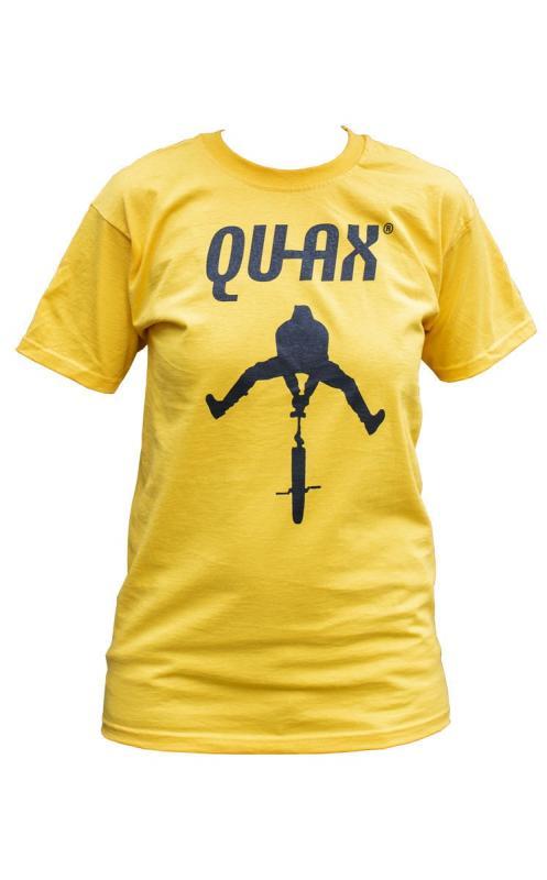 CAMISETA QU-AX AMARILLA - Camiseta Qu-Ax amarilla