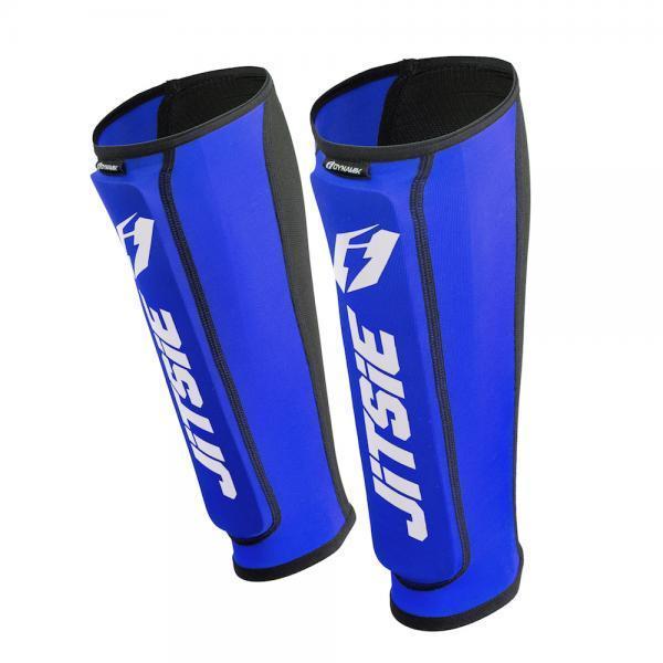 ESPINILLERAS JITSIE DYNAMIK BLUE - Espinilleras azules Jitsie Dynamik