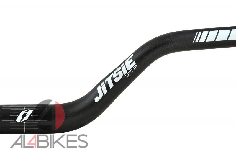 MANILLAR JITSIE ALUMINIO  HYBRID 100-730MM  - Manillar Jitsie aluminio Hybrido 100- 730mm