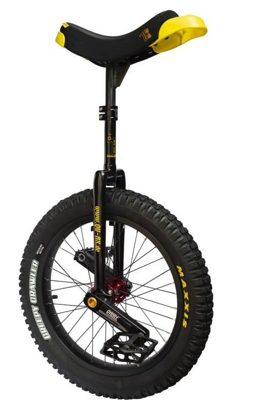 MONOCICLO QUAX MUNI 19 TRIAL BLACK + REGALO PROTECCIONES - Monociclo de trial Quax Muni 19