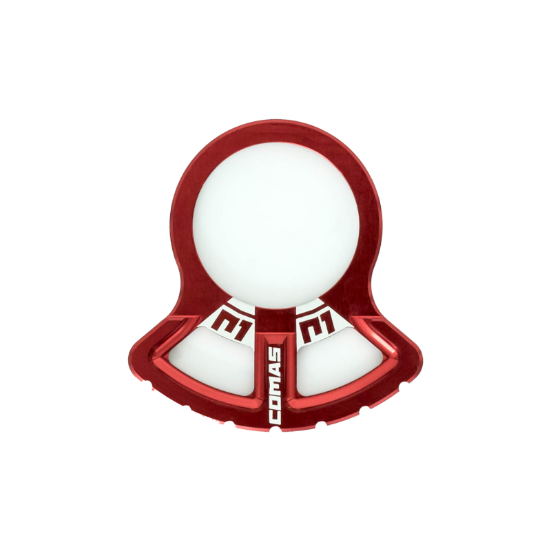 PROTECTOR PIÑON RING COMAS TRIAL RED