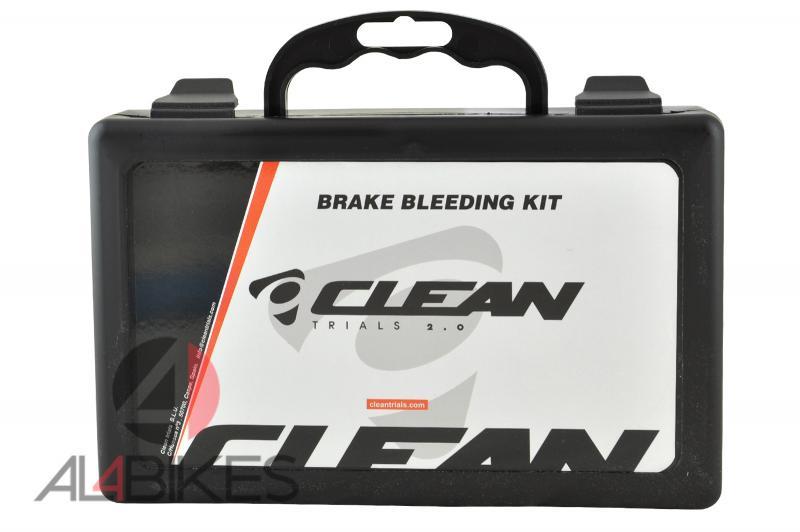 KIT DE SANGRADO UNIVERSAL CLEAN - Kit de sangrado universal para frenos de llanta y disco con todo tipo de racores