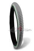 NEUMATICO TRASERO MONTY 25X2.45 GRISES - Neumático trasero de trial monty 25X2.45 230 Urban