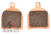 PASTILLAS FRENO JITSIE BP 851 RACE  - Pastillas freno Jitsie BP 851 Race Biketrial Hope Monotrial/Trial zone